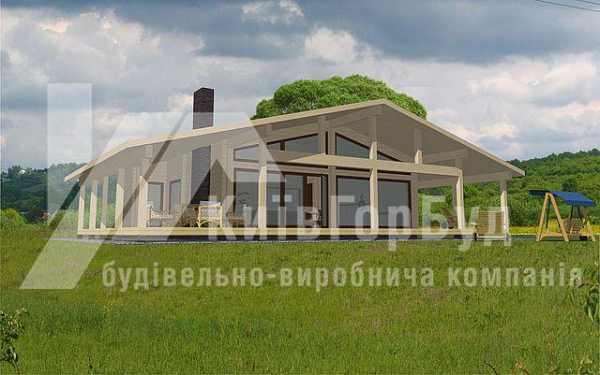 Wooden house project W-103 - image 1
